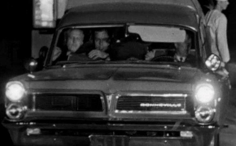1963 11 22 1963 Pontiac Bonneville Ambulance Carrying Jfks Body