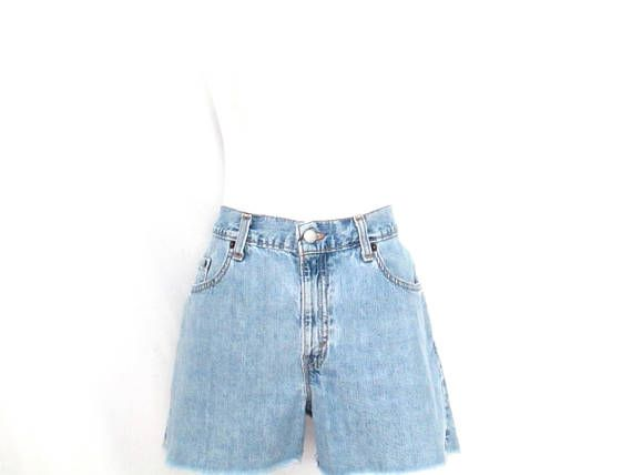 f9fd9721b6 Vintage Levi's Jean Shorts 90's Cutoff Frayed Denim | 90's Grunge ...