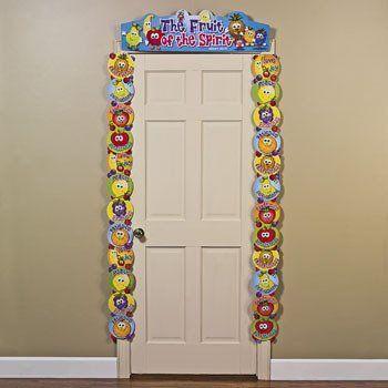 Fruit of the spirit door border teacher resources classroom decorations