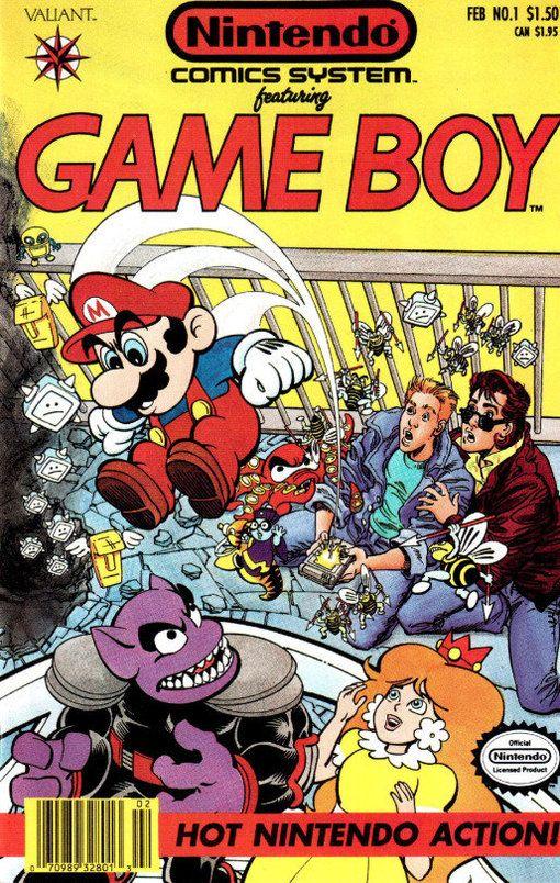 Super Mario Land 2 Gameboy Alvanista Classic Video Games Retro Video Games Comics