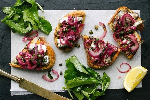 Fancy Sardines on Toast | 12 Unconventional Dishes Perfect For Winter