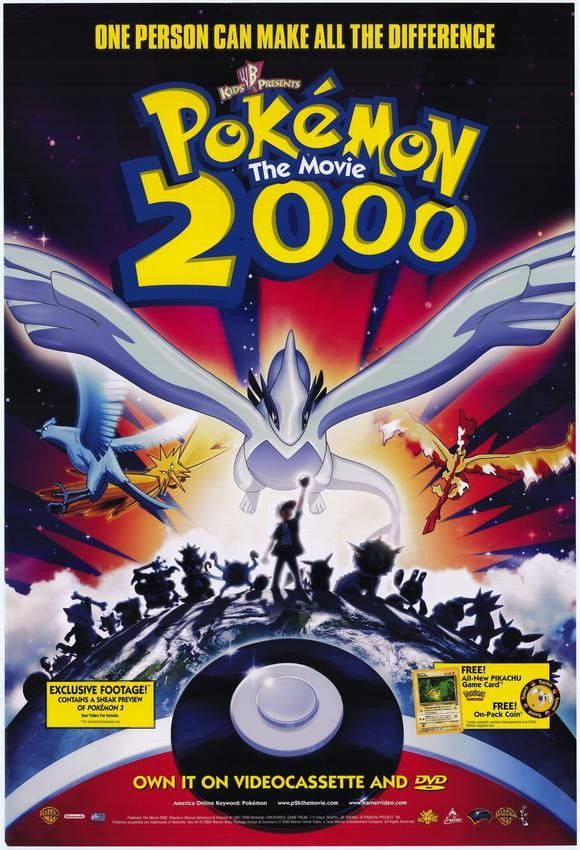 pokemon the movie 2000 the power of one 11x17 movie poster 2000