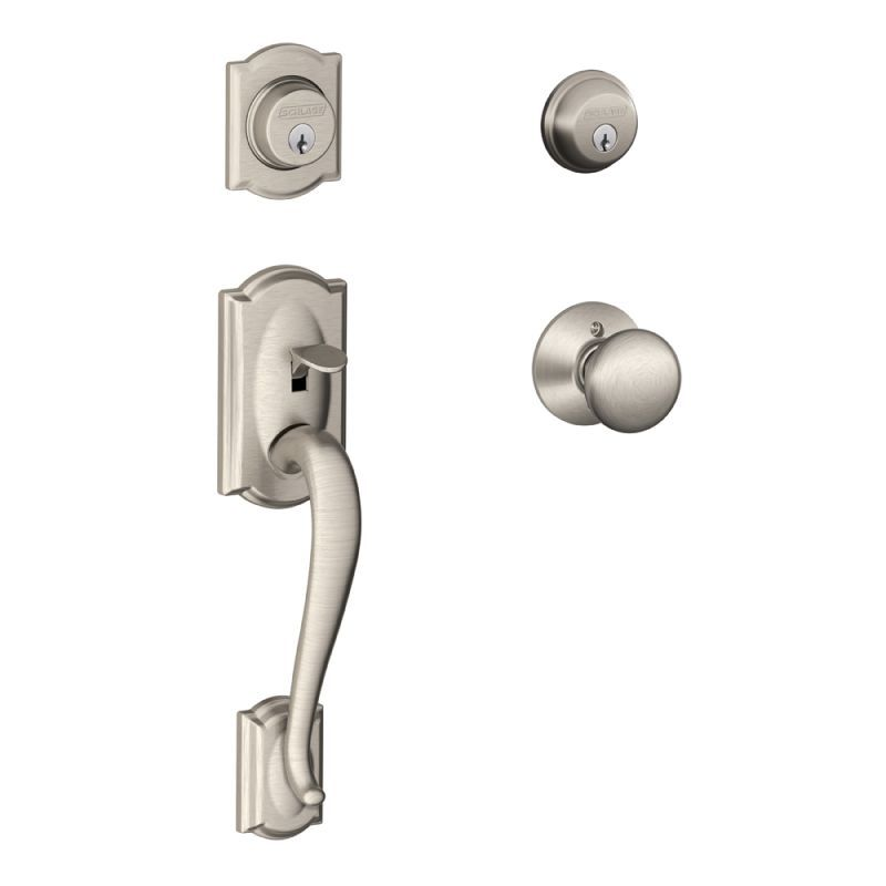 Schlage F62 Cam Ply Front Door Hardware Door Handles