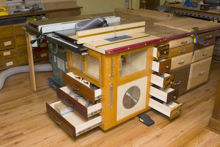 Cool Idea To Add A Router Table To Existing Table Saw For Small