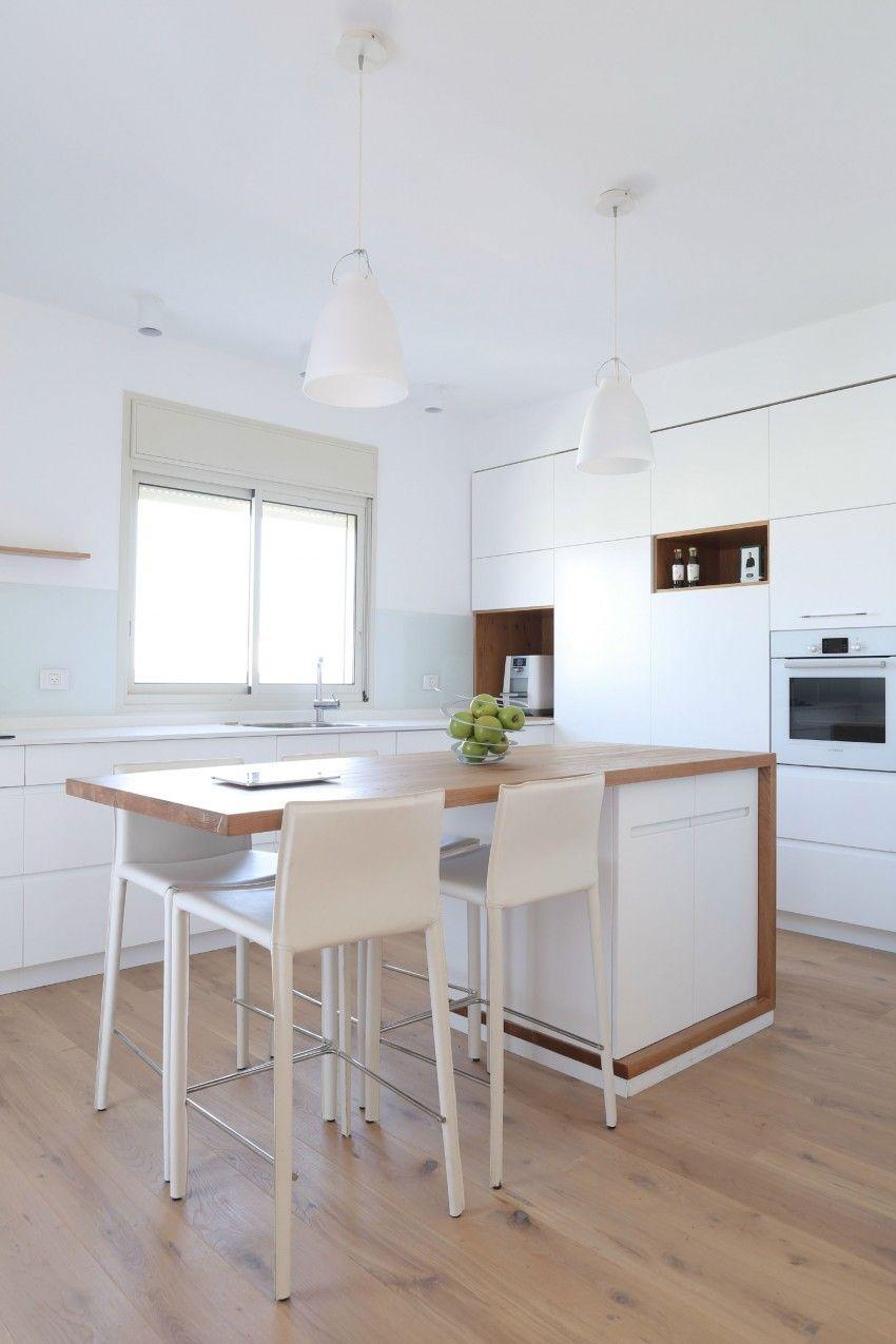Netanya Penthouse 1.0 by Dori Interior Design | Mesones de cocina ...