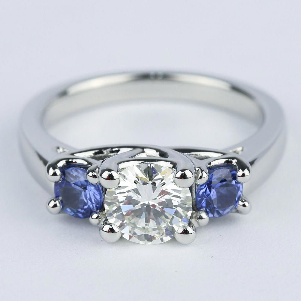 Three Stone Engagement Rings On Sale Now