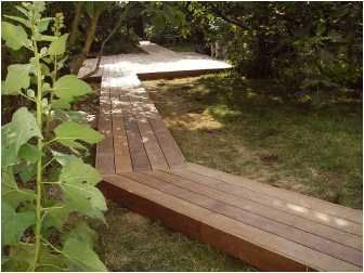 Allees Design Chemins De Bois Mobilier Jardin Terrasse Bois Jardin Interieur