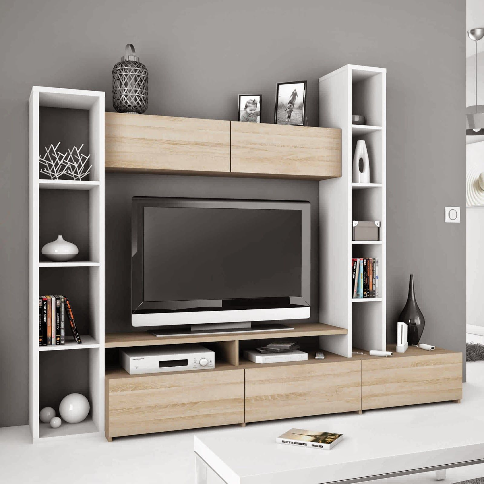 redoutable meuble tv rangement