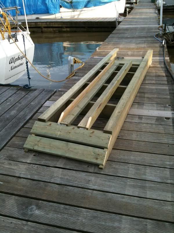 Re diy floating dock ramp progress thread kayak pinte re diy floating dock ramp progress thread more solutioingenieria Image collections