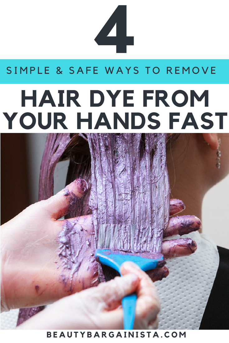 Hair Coloring Hacks Help 4 Ways To Remove Hair Dye From Hands Fast Hair Dye Removal Hair Color Remover Remove Permanent Hair Dye