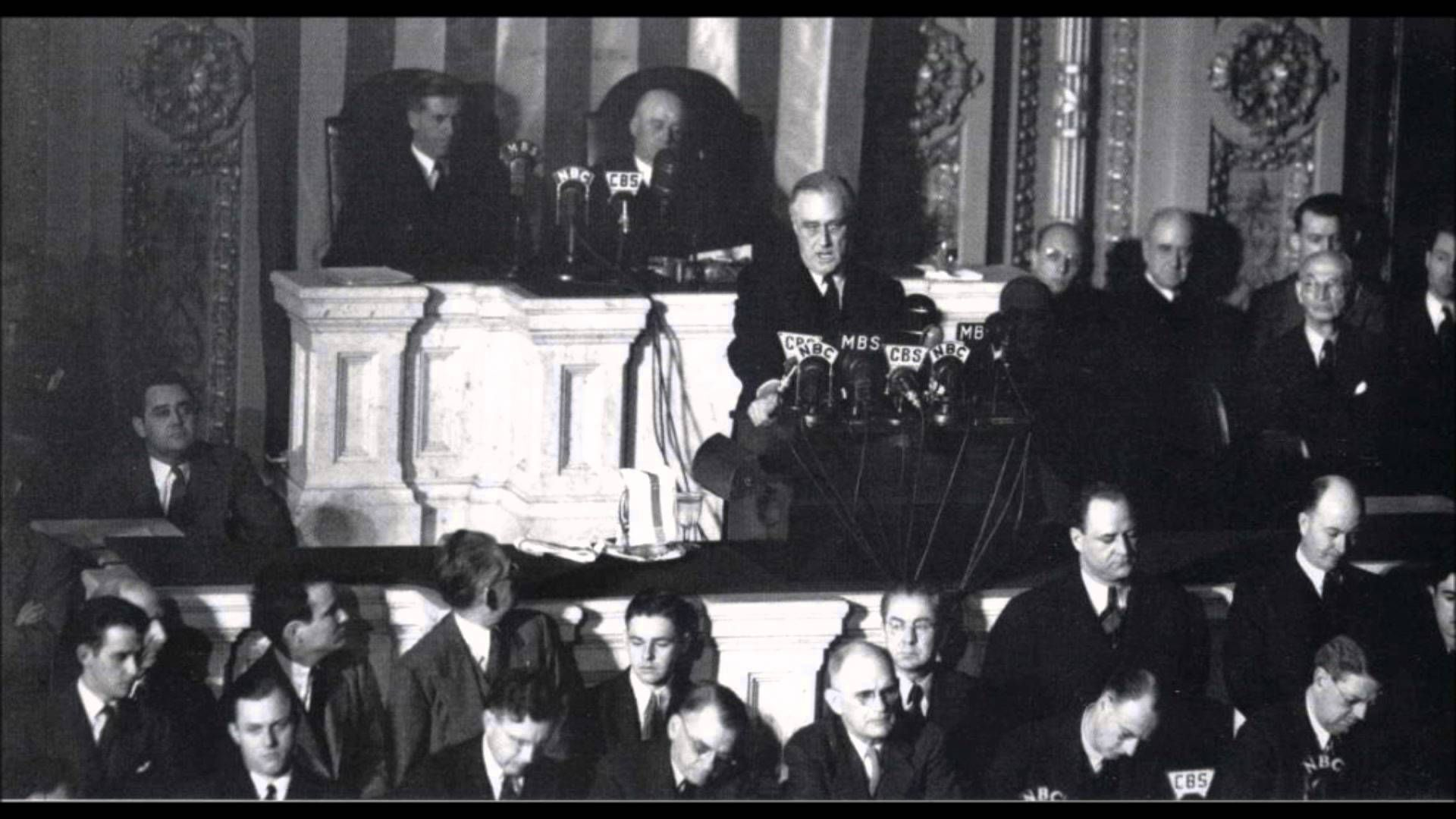Franklin D Roosevelt Dec 8 1941 Day Of Infamy Speech Full