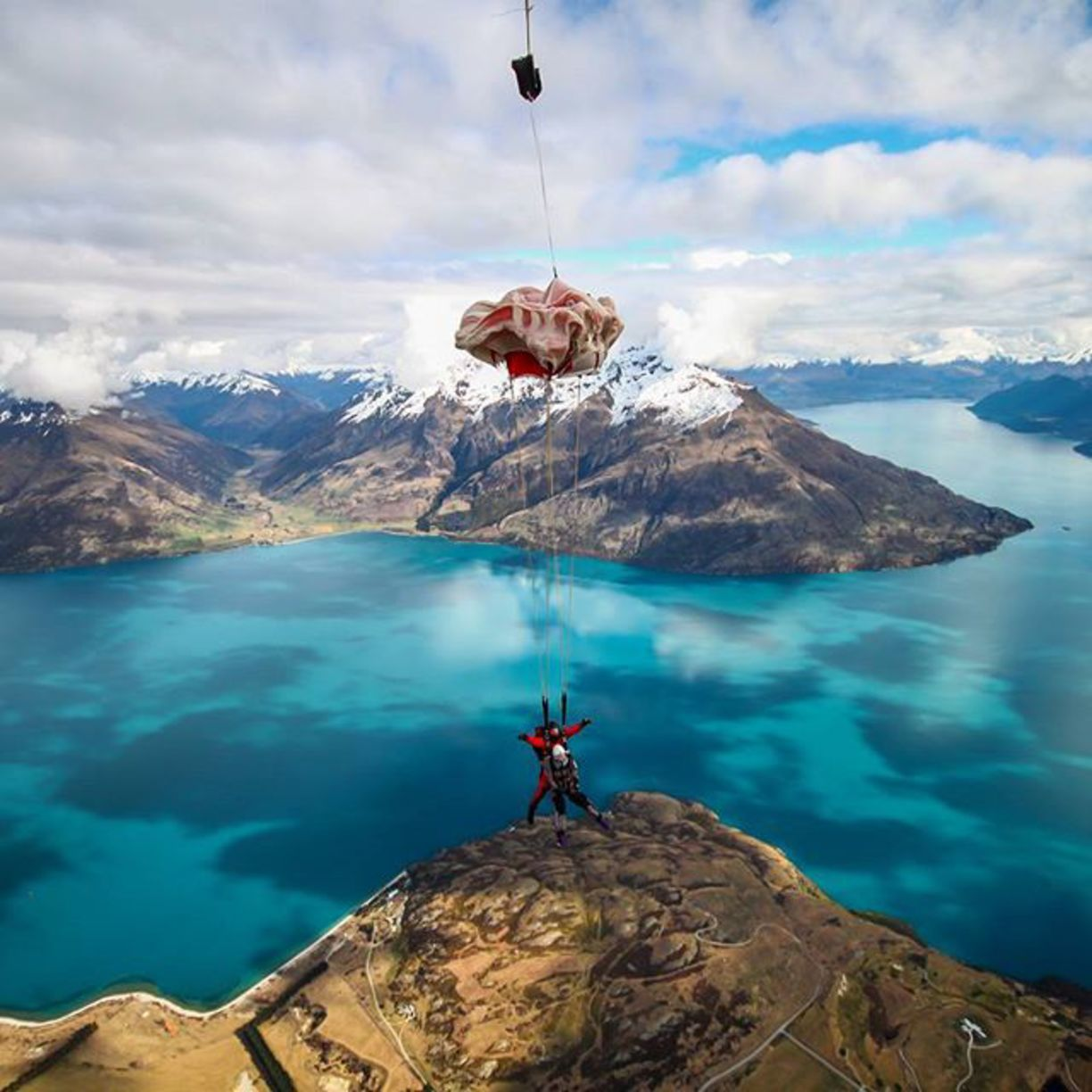 Queenstown Queenstown New Zealand By Nzone Skydive Queenstown New Zealand Queenstown New Zealand Skydiving Landscape Photography