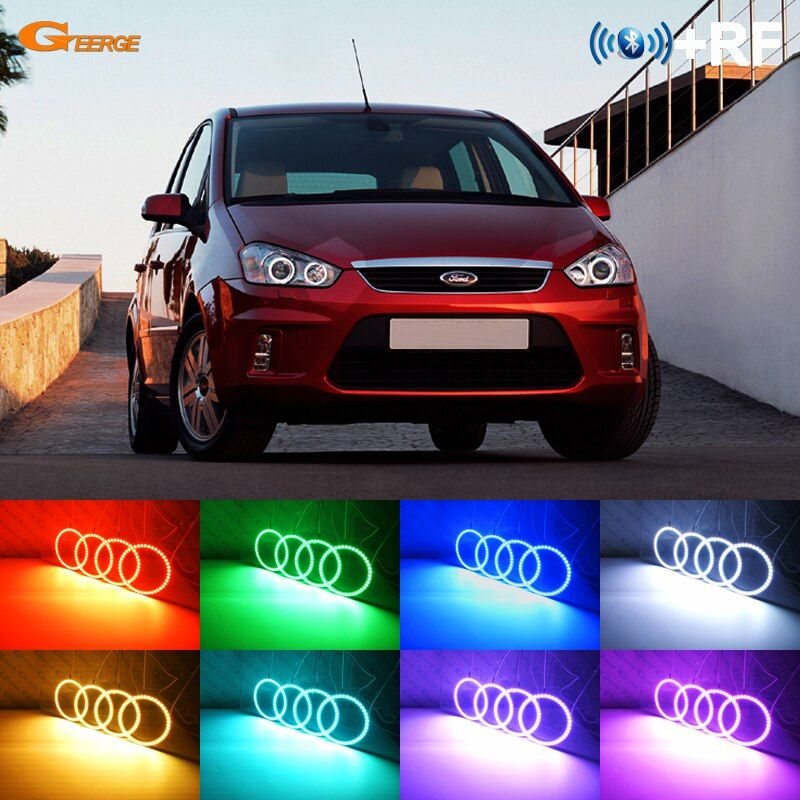 Cheap Kit Kits Buy Quality Kit Led Directly From China Kit Ford Suppliers For Ford C Max Mki 2008 2009 2010 Xenon Headlight Led Angel Eyes Rgb Led Angel Eyes