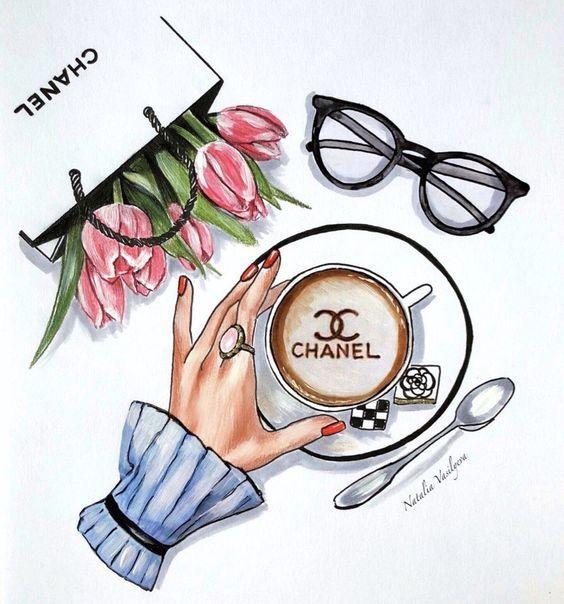 a1399fac3e22 Fashion Illustration Chanel, Fashion Illustrations, Illustration Sketches,  Drawing Fashion, Fashion Sketches,