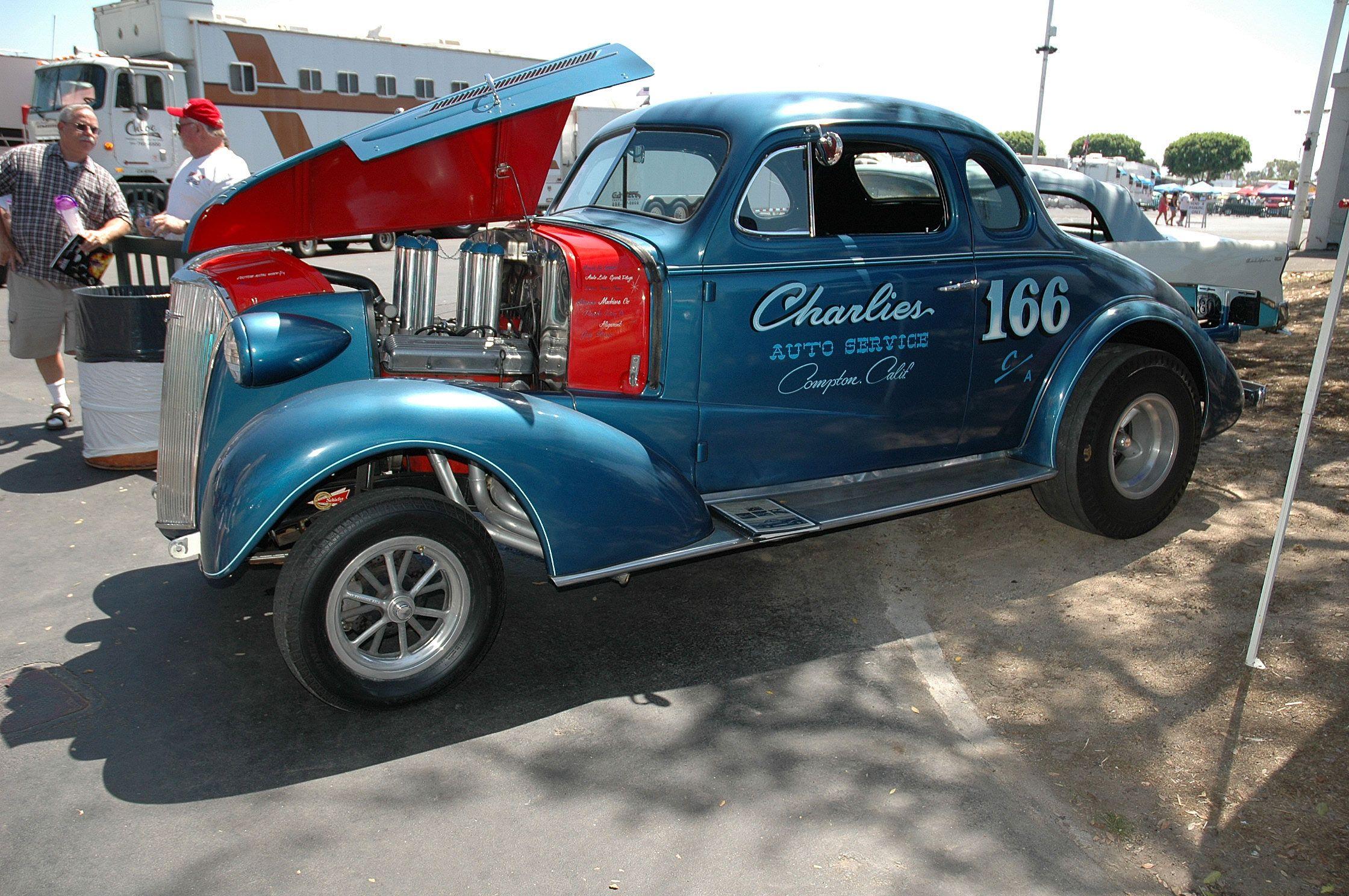 Charlies auto service 37 auto service vintage racing