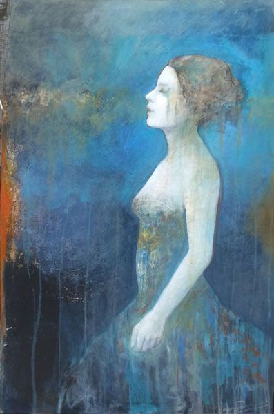 Joan Dumouchel - Contemporary Artist - Figurative Painting - Pur