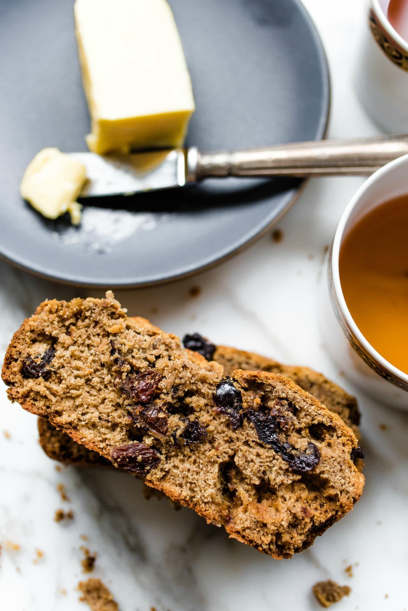 Irish Barmbrack Bread Recipe in 2020 | Recipes, Barmbrack ...