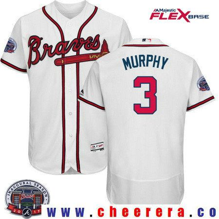 mens atlanta braves 3 dale murphy retired gray road stitched mlb majestic flex  base jersey 78749bd6e