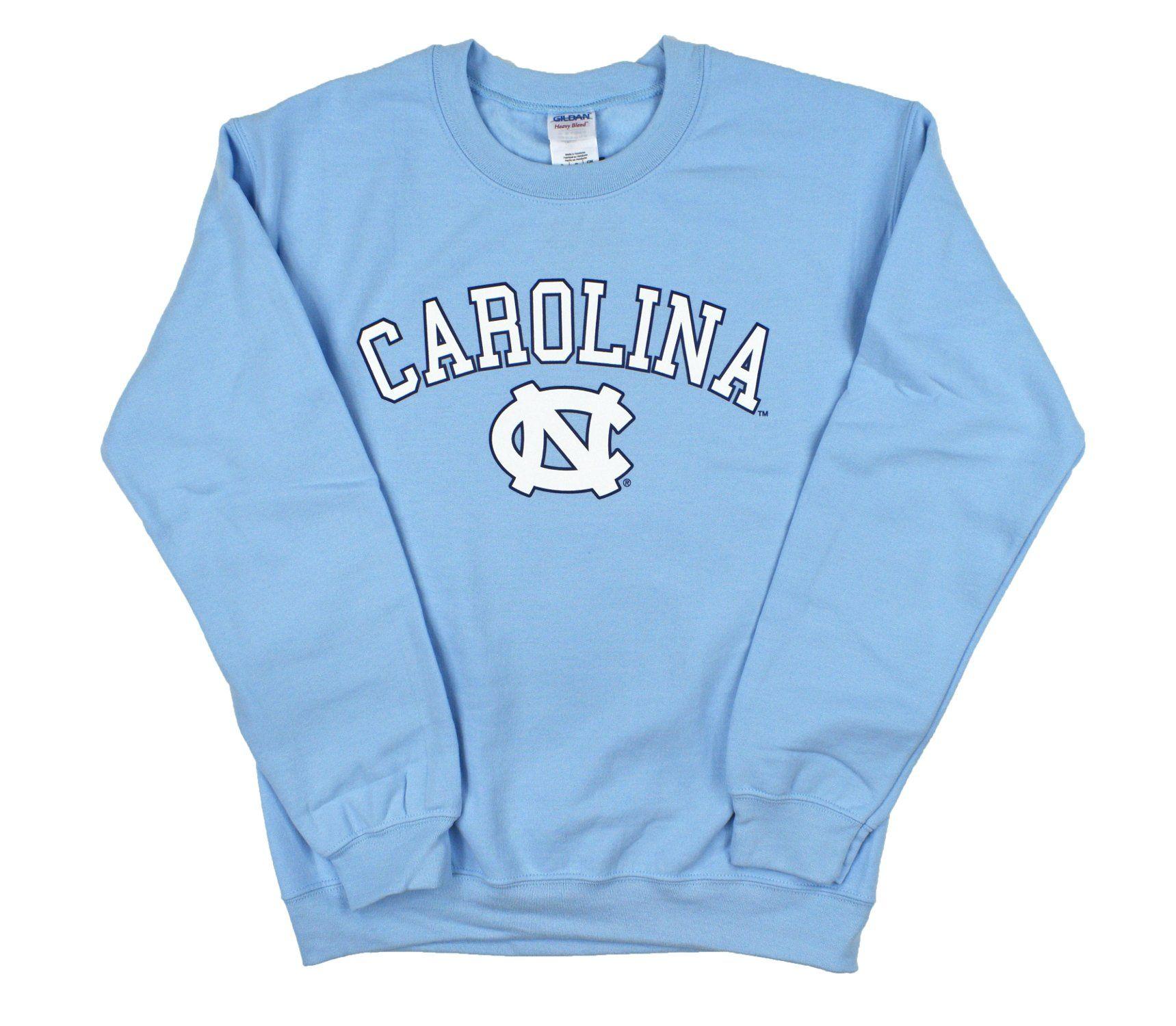Carolina Blue Unc Crewneck Sweatshirt By Champion Sweatshirts College Sweatshirt Outfit Crew Neck Sweatshirt [ 1500 x 1719 Pixel ]
