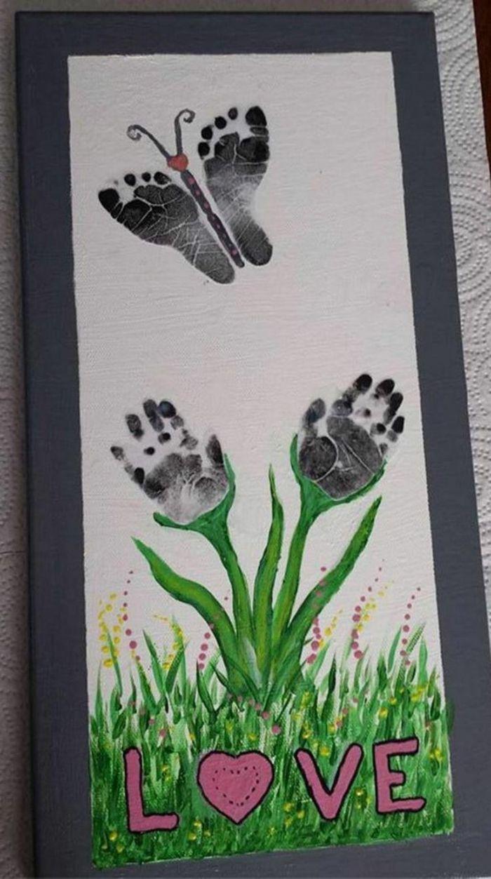 55 Handabdruck Bilder Die Klein Und Groß Froh Machen Geschenke Basteln Mit Kindern Basteln Mit Kindern Kreativ
