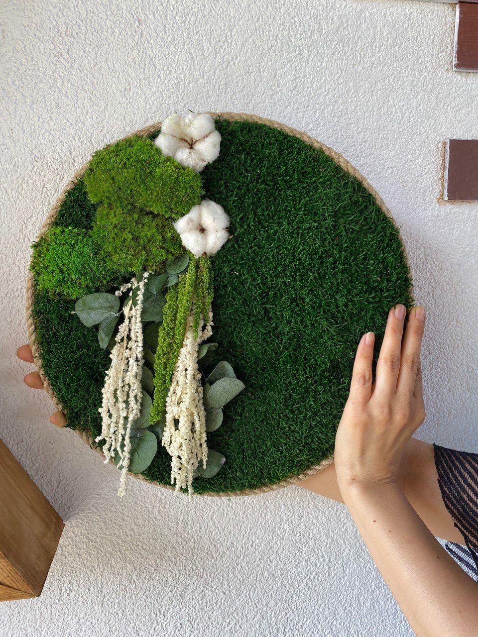 Moss Wall Art Moss Wall Art Decor Fake Moss Decor Wall Art In 2020 Moss Wall Art Extra Large Wall Art Green Wall Art