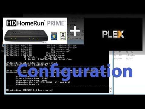 My Hd Homerun Prime Plex Media Server Hdsurferwave Plugin Configuration Plex Media Homerun Media Center