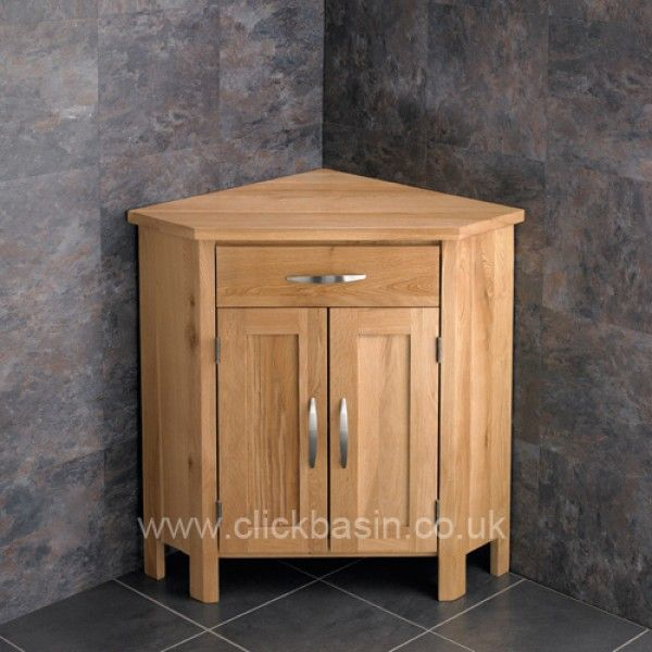 corner bathroom vanity oak padova round frosted basin tapwaste ohio oak double corner cabinet - Bathroom Cabinets Corner