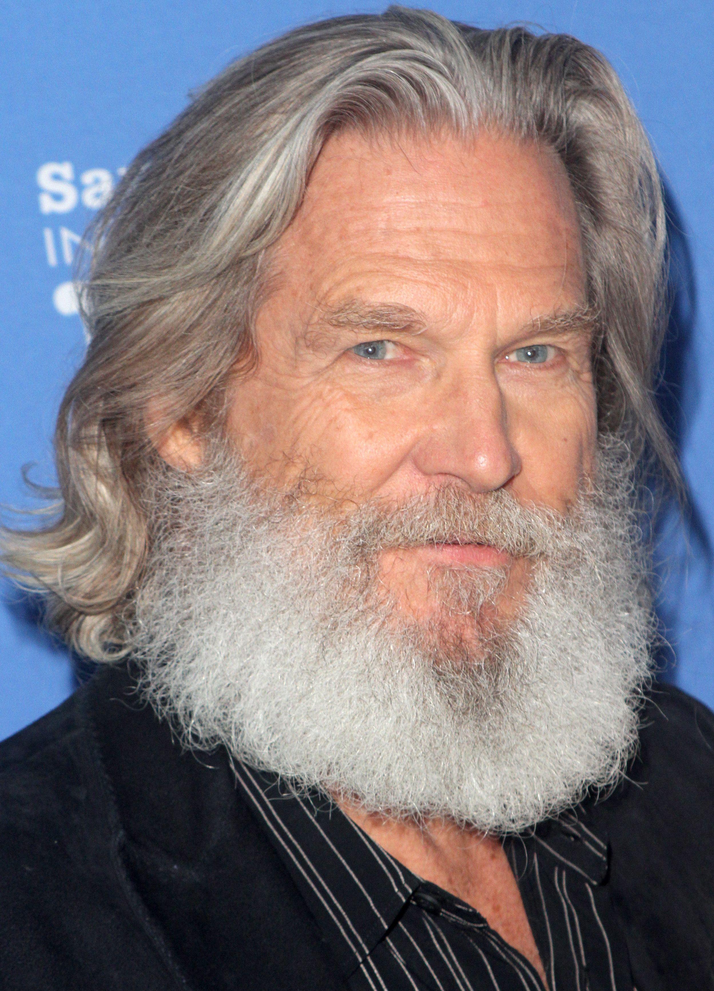 Jeff Bridges in 2020 | Epic beard, Beard no mustache ...