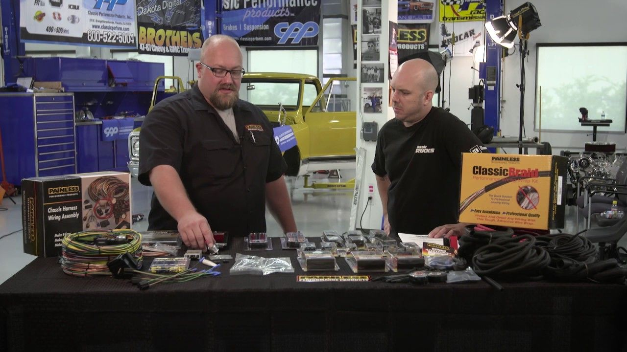medium resolution of custom wiring harness build gm high tech performance magazine