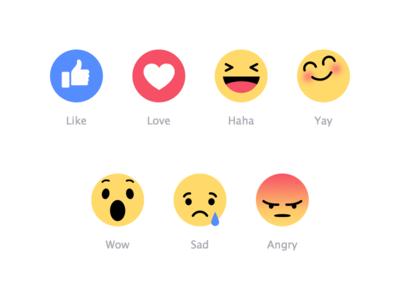 Facebook Emoji Freebies 웃는 얼굴 얼굴