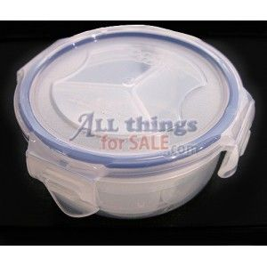 very small BPA free with 3 divider compartments