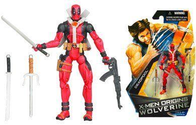X Men Origins Wolverine Comic Series 3 3 4 Inch Action Figure Deadpool By Hasbro 59 99 Complete Your C Deadpool Action Figure Wolverine Comic Deadpool Comic