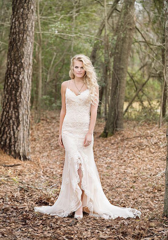 Whimsical Wedding Dress Idea Ed Sheath Gown With Sweetheart Neckline Self Tie Belt Beaded Sequined Lace Liques Style 6461 By