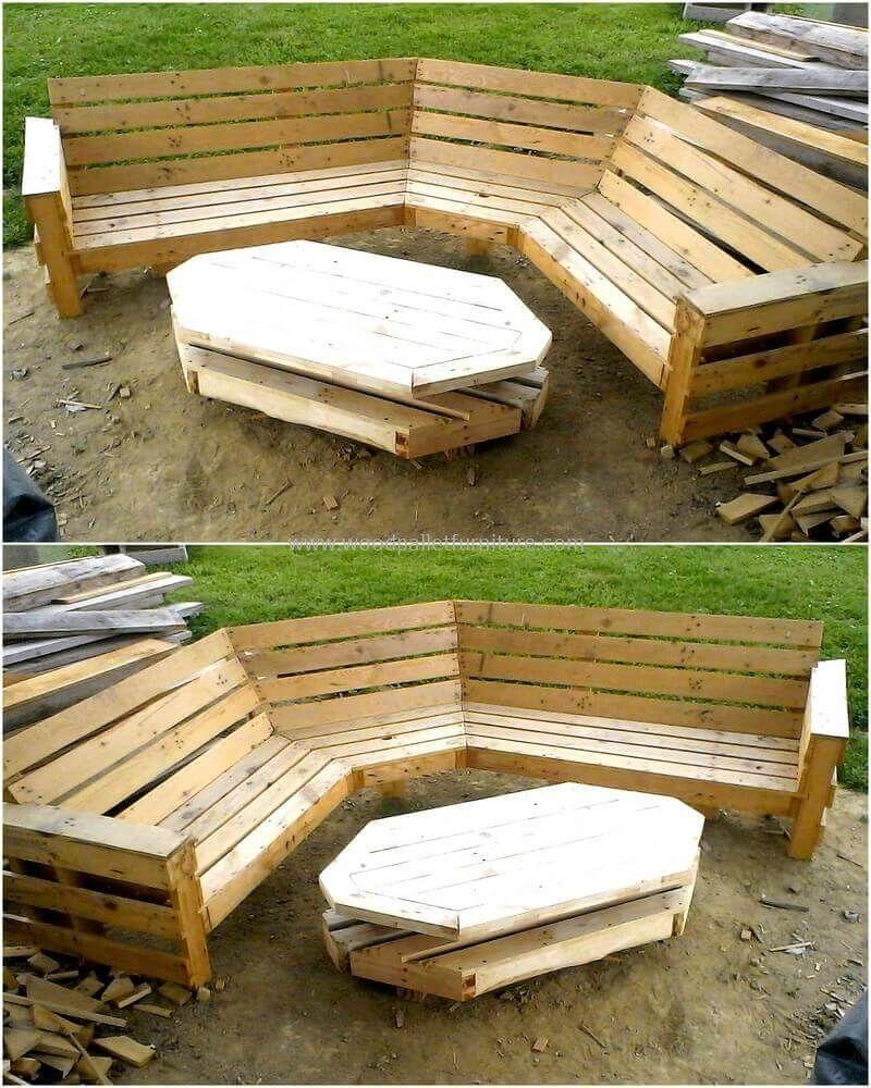 60 Pallet Ideas for Garden And Outdoors | Garden bench plans, Bench ...