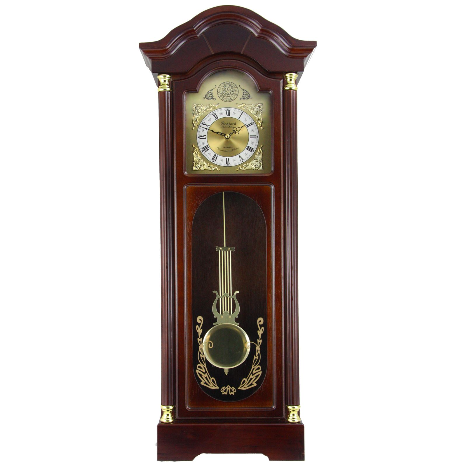 Bedford Clock Collection Offers You The Elegance And Beauty Of Classic Style With The Modern Reliable Technology Of Today In 2020 Chiming Wall Clocks Wall Clock Clock