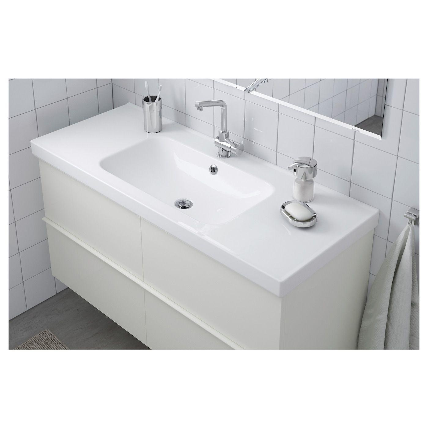 Odensvik Pojedyncza Umywalka 123x49x6 Cm Sprawdz Szczegoly Produktu Ikea In 2020 Sink Ikea Double Bowl Sink