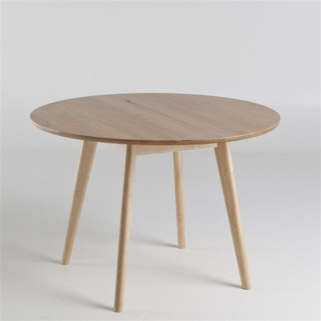 table ronde 6 personnes jimi la redoute interieurs for the home pinterest table ronde. Black Bedroom Furniture Sets. Home Design Ideas