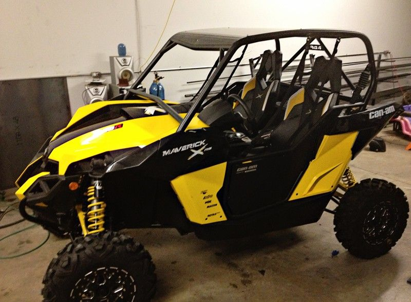 Can Am Maverick Roll Cage 1SxS CanAm PodiumSxS (With