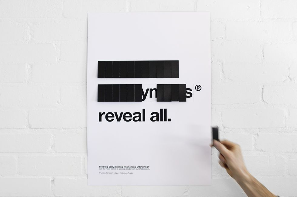 Brilliant promotional poster/marketing | Graphic Design | Pinterest