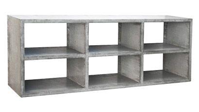 concrete sideboard berlin six box by formdimension wohnen pinterest m bel wohnen und g rten. Black Bedroom Furniture Sets. Home Design Ideas