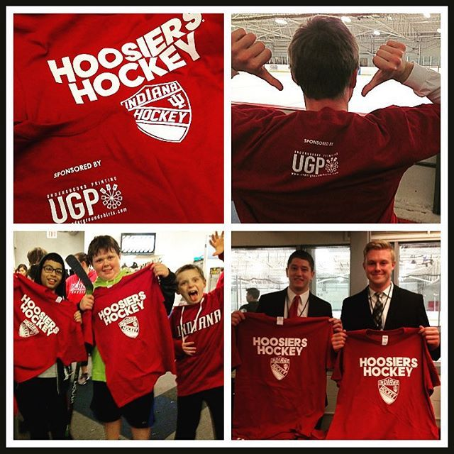 We hope everyone loved the UGP IU hockey shirts as much as we loved ... 126cf36b3