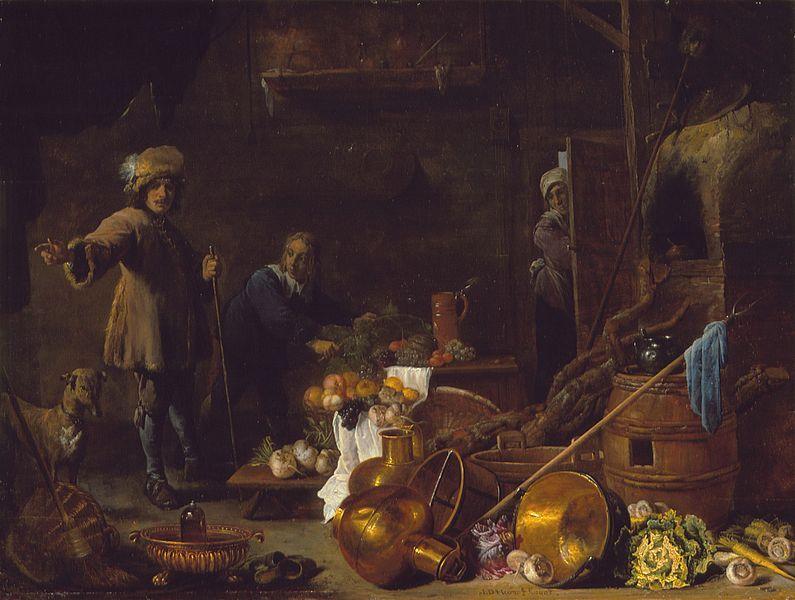 David Teniers el Joven (Flandes, 1610-1690), Jan Davidsz de Heem (Holanda, Flandes activo, Amberes, 1606-1684)upload.wikimedia.org https://upload.wikimedia.org/wikipedia/commons/thumb/3/32/An_Artist_in_His_Studio_LACMA_M.72.67.1.jpg/795px-An_Artist_in_His_Studio_LACMA_M.72.67.1.jp