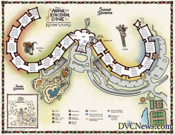 Kidani Village Map Kidani Village map   Walt Disney World Resorts in 2019   Pinterest  Kidani Village Map