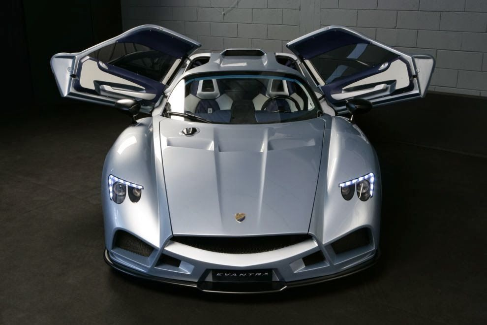 Incredible Exotic Car the Mazzanti Evantra with only 5 made per year ...