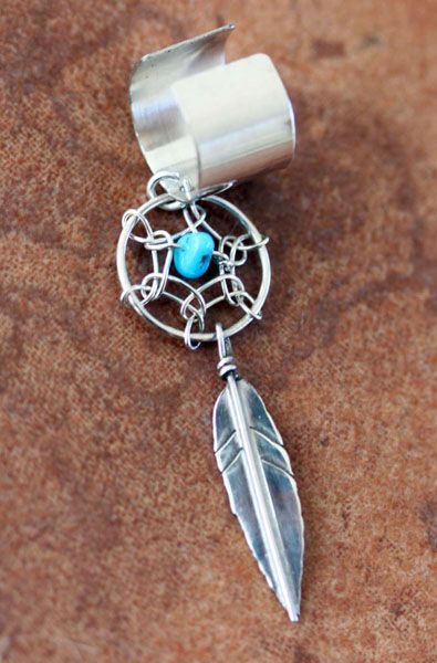 Dream Catcher Ear Cuff Dream Catcher Ear Cuff Pierced and Inked Pinterest Dream 12
