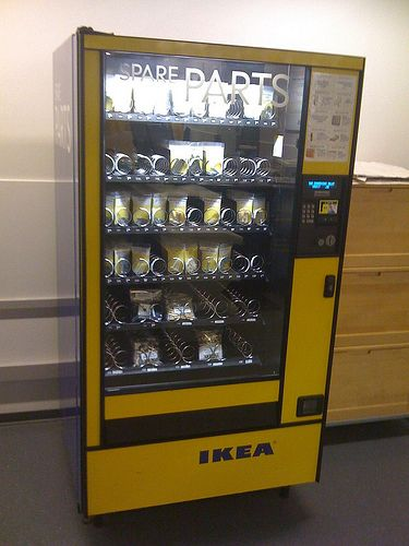 Ikea Vending Machine Uygulamalar