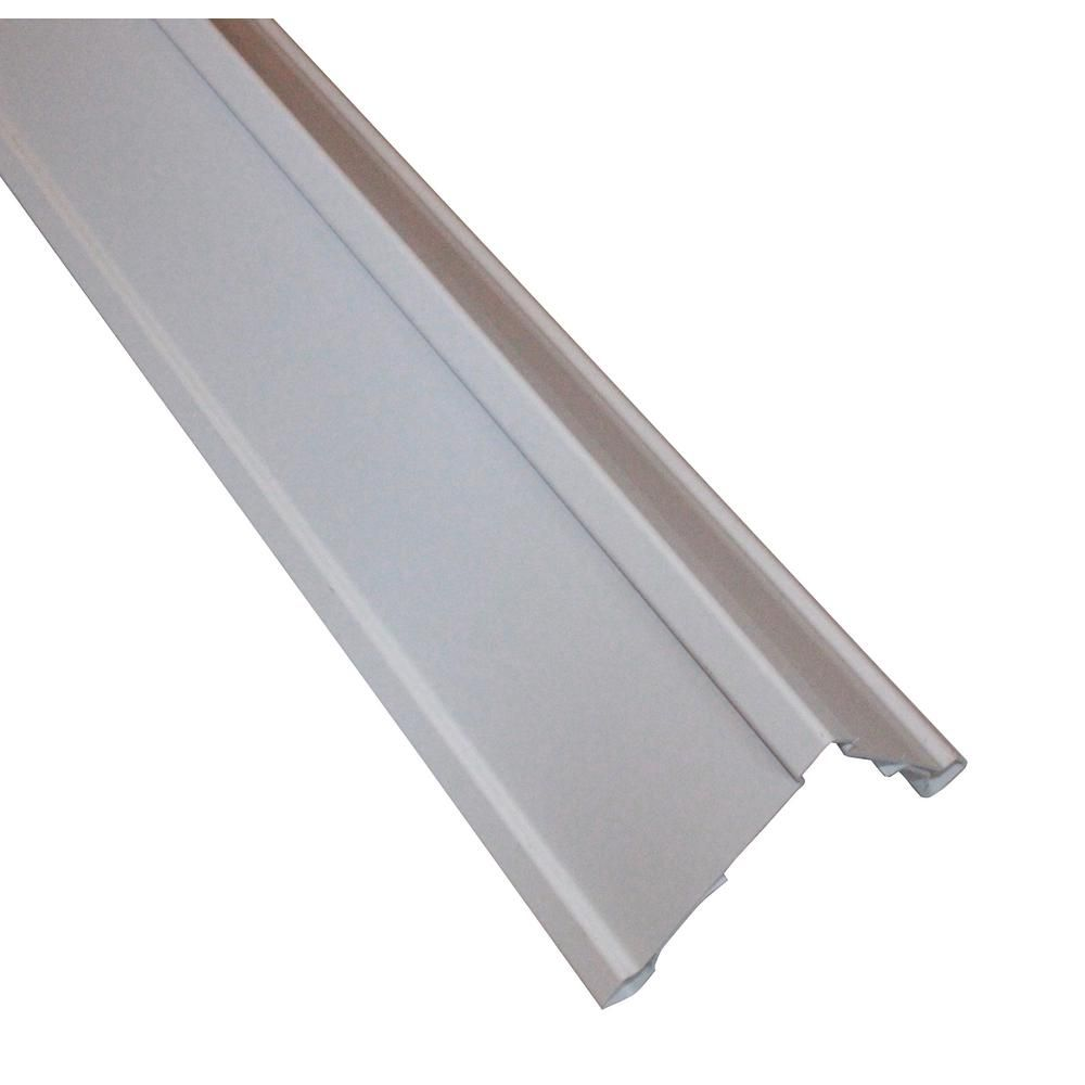 Vinyl Siding Clip On Super Corners 5 5 In X 5 5 In X 240 In White Outside Corner Posts 1600020 The Home Vinyl Siding Vinyl Siding Samples Vinyl Lap Siding