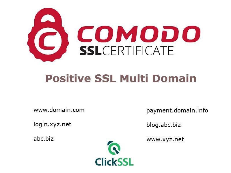 Secure Multiple Tlds With Single Comodo Positive Ssl Multiple