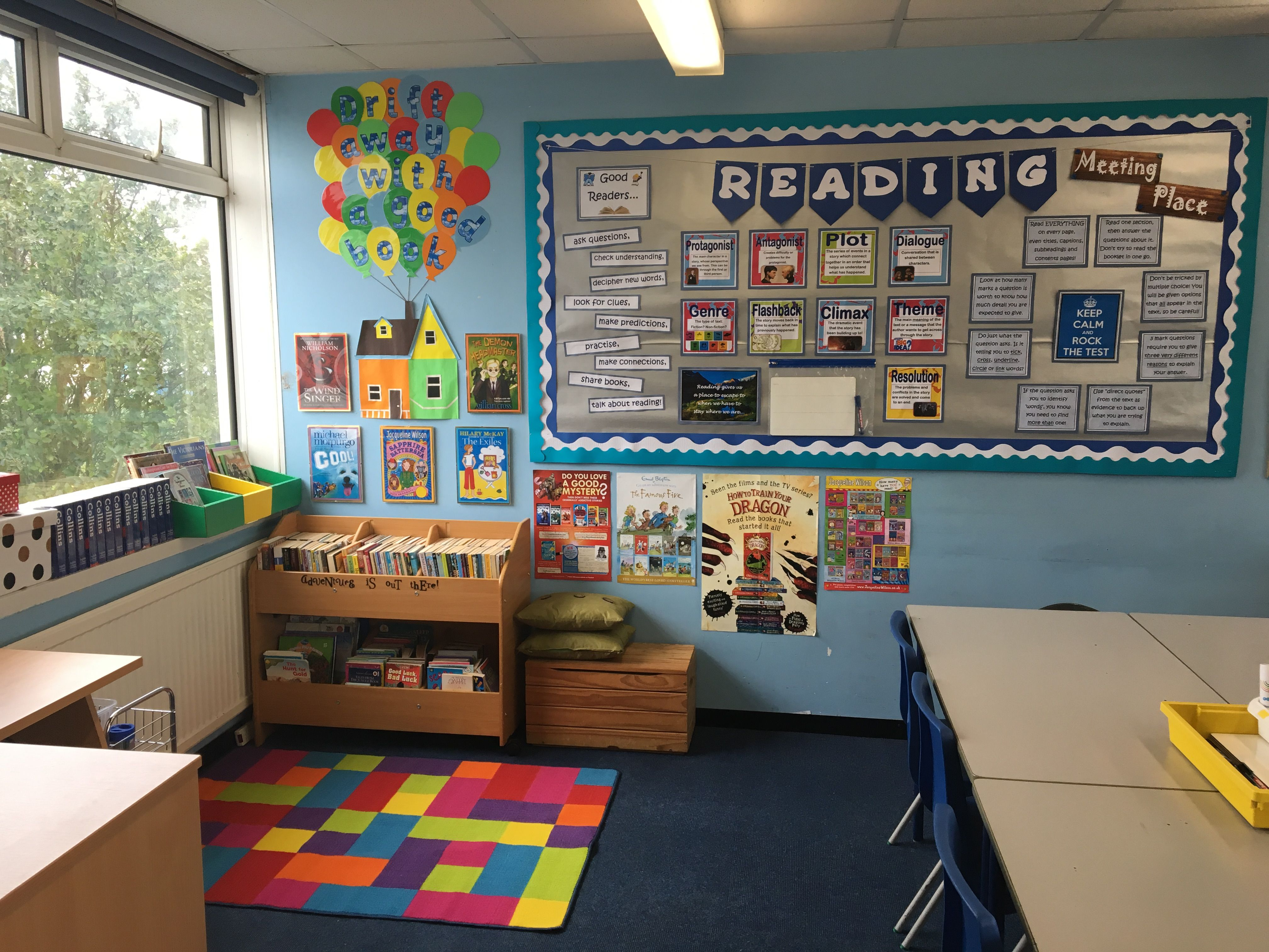 Classroom Ideas Yr 6 ~ Reading corner book year classroom