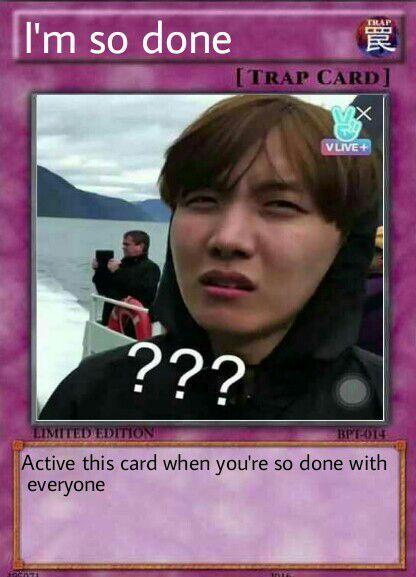 Bts Trap Card Meme Bts Meme Faces Funny Yugioh Cards Meme Faces